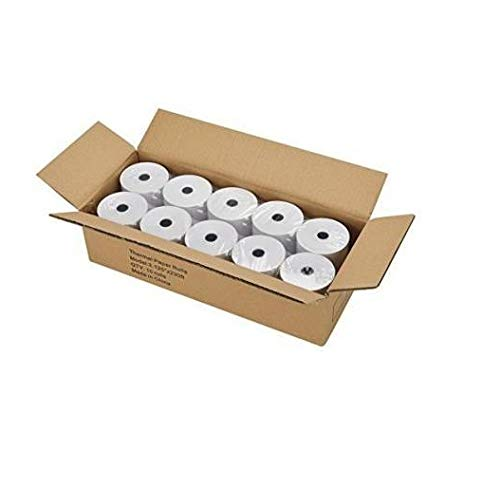 Swaggers Thermal paper roll 57mm(Width)x 25 meter(Length) Pack Of 10 Rolls