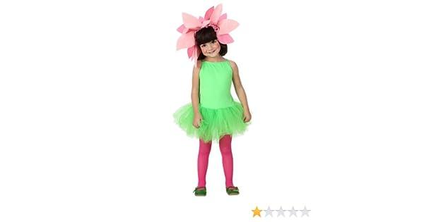 Atosa - Disfraz de flor para niña, talla 116 cm (8422259169222 ...