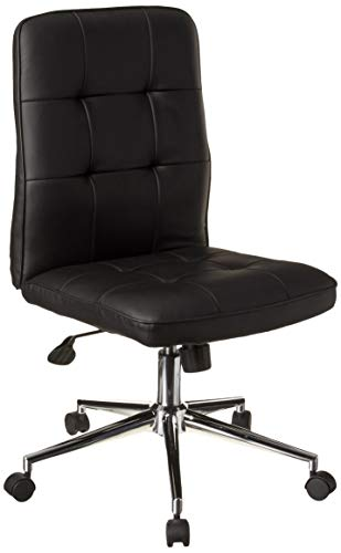 Boss Office Products Mellennial Modern Home Office Chair without Arms in Black