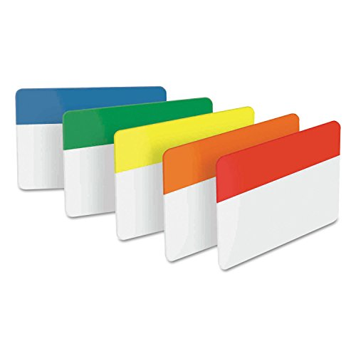 - Post-it 686ROYGB File Tabs, 2 x 1 1/2, Assorted Primary, 30/Pack