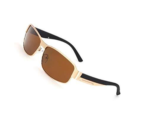 Huyizhi de conduire mode la soleil sports Lunettes du UV400 soleil Cool voyager protection vélo Golden lunettes unisexes de de faisant polarisées des de SqArSpx