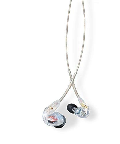 (Shure SE425-CL Sound Isolating Earphones with Dual High Definition MicroDrivers )
