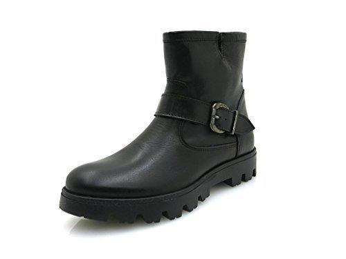 Garda preto Buffalo Biker Women's 30635 London Boots Plisse ES Trend ggRAaq4