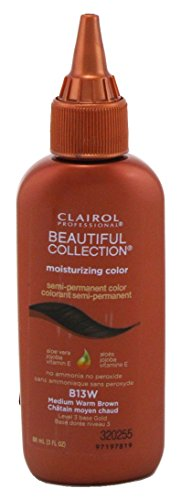 (Clairol Beautiful Collection #B013W Medium Warm Brown 3 Ounce (88ml) (3 Pack))