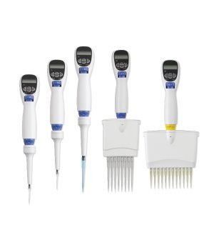 Labnet - Labnet Excel Electronic Pipette 100 to 1200ul, 8 channel, with charger - Pipette Electronic