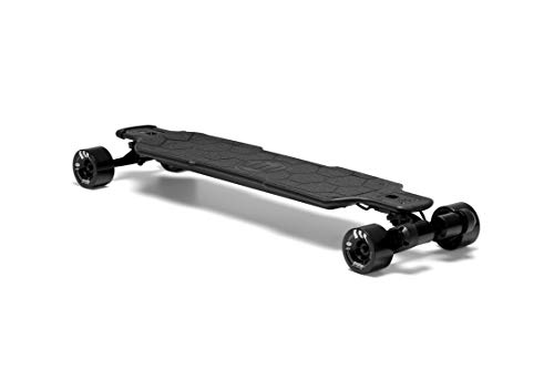 Evolve Skateboards - Electric Carbon GTR Street Longboard - 26 MPH Top Speed, 31 Mile Range - Digital LCD Screen Remote Control