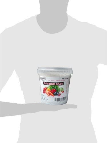 Sal kosher de Leilas Deli (1 x 2750 g) – 100 % natural - Sin yodo ...