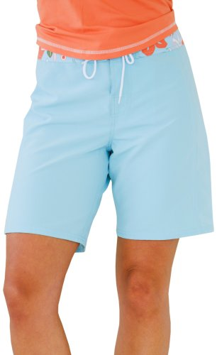 Carve Designs Beachcomber Board Shorts, damen, Pool/Under the Sea