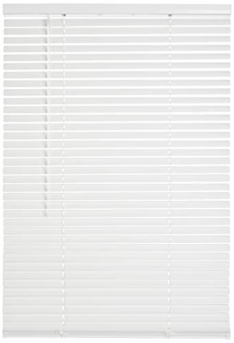 Lotus & Windoware Cordless 1″ Aluminum Blind 70″ x 60″, White