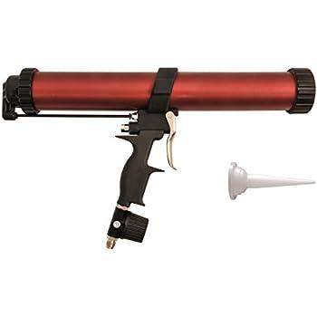 how to use a sausage caulking gun