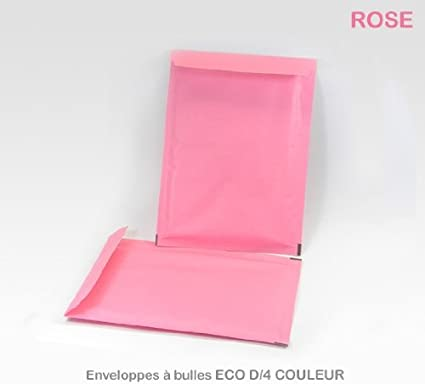 Lot de 100 Enveloppes /à bulles D//4 NOIRES format 180x260 mm