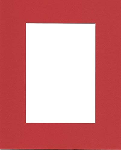24x36 Acid Free White Core Picture Mats Cut for 20x30 Pictures in Cream Pack of 2