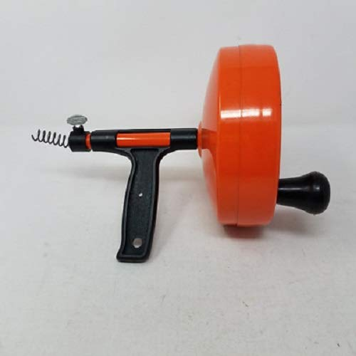 General Pipe Cleaners R-25SM Spin Thru Drain Auger with 1/4-Inch by 25-Feet ()