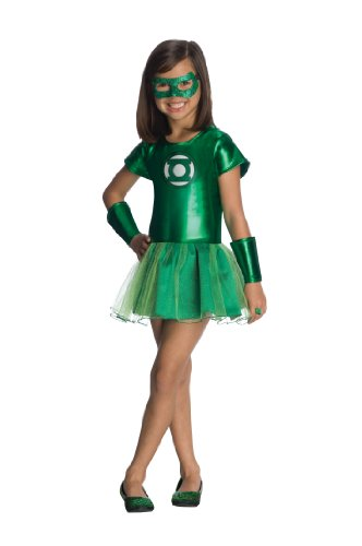 Justice League Child's Green Lantern Tutu Dress - Medium (Green Lantern Womens Costume)