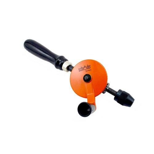 Schroeder Hand Drill 1/4-Inch Capacity (Hand Brace Drill)