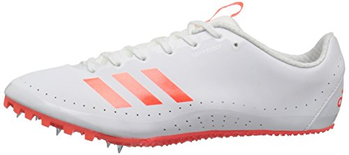 adidas Men's Sprintstar Track Shoe, Solar Red/White/Infrared, 7 M US by adidas (Image #5)