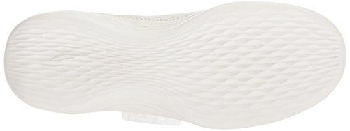 Mujer You Skechers Rise Cordones Blanco sin para Zapatillas CH4qY