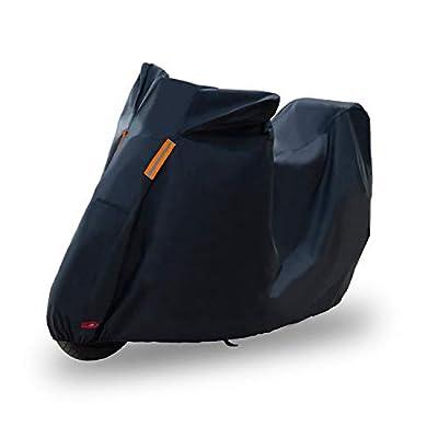 KABATEN Motorcycle Cover Waterproof Durable Outdoor & Indoor for Heavy Duty All Season Protector, Fits up to 104inch Motors Harley Davison Motorcycle Accessories.: Automotive