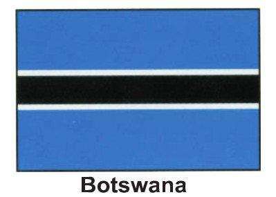 - HP 3ft x5ft World Flag - Botswana