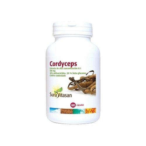 Cordyceps 60 Cápsulas de Sura Vitasan: Amazon.es: Salud y cuidado personal