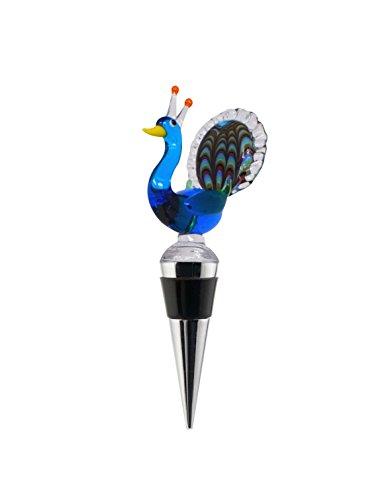 LS Arts Bottler Stopper - Peacock