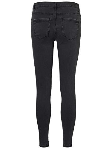 Skinny Xs Moda Vita Jeans Elasticizzato Taglia Vero Scuro Colore Alta Grigio Enaqw1nWA