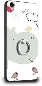 Apple 7plus cartoon phone case - multicolor