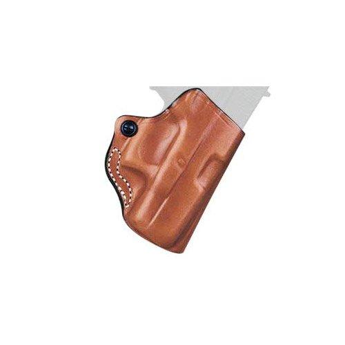 (DeSantis Mini Scabbard Holster for S&W M&P Shield Gun, Right Hand, Tan)