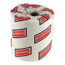 Boardwalk White 2 Ply Toilet Tissue, 4.5 x 4.5 inch - 500 sh