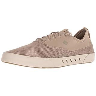 Sperry Mens Maritime Bungee Sneaker, Khaki, 9.5