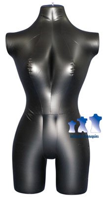 His /& Her Special Black Inflatable Mannequin 3//4 Forms