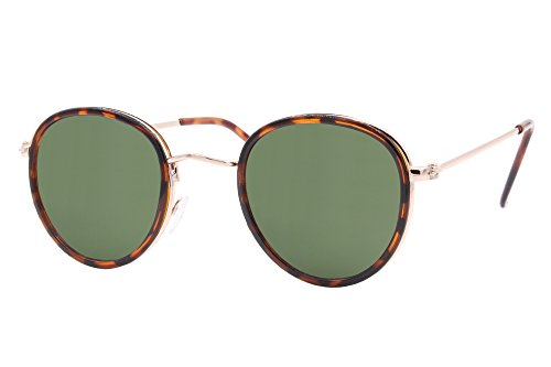 dAnimal Rondes Lunettes Motif Cheapass Rétro Miroitant Hommes Femmes Sunglasses Leo5 Variation XSOPwqxEwg