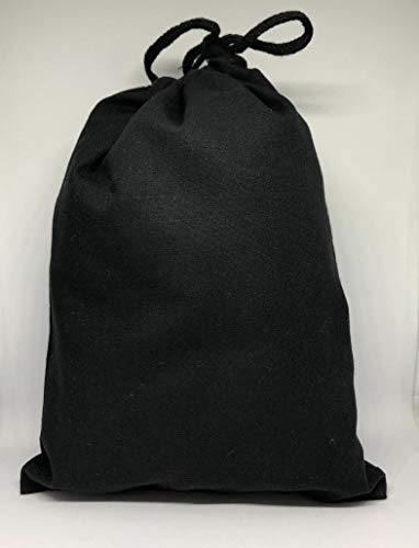 Cotton Muslin Bags, Single Drawstring Premium Quality Eco Friendly Black Reusable Muslin Bags. Pack of 100. (4x6 Inches) -