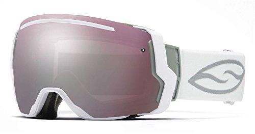 Smith Optics I/O7 Vaporator Series Snocross Snowmobile Goggles Eyewear - White/Ignitor/Red Sensor / Medium by Smith Optics