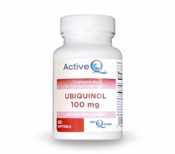 "100mg ActiveQ® (60 Softgels) uses Kaneka QH Ubiquinol the ""active"" antioxidant form of Coenzyme Q10"