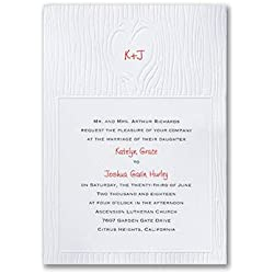 Wedding Invitations, Nature of Love - Invitation