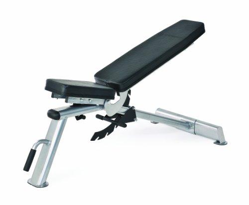 Horizon Fitness Multifunktionsbank Adonis Trainings, silber/ schwarz, 100693
