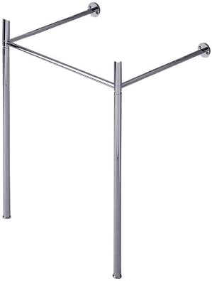 Duravit 0030591000 Metal Console Legs for Scola Wall Mount Lavatory, Chrome Finish