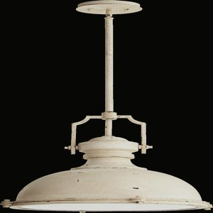 Quorum Lighting 814-20-70, Pendant Bowl Pendant, 3 Light, 195 Total Watts, Persian White