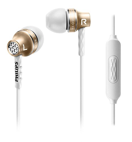 Philips SHE9105GD in-Ear Headphones with Mic SHE9105 Gold ()