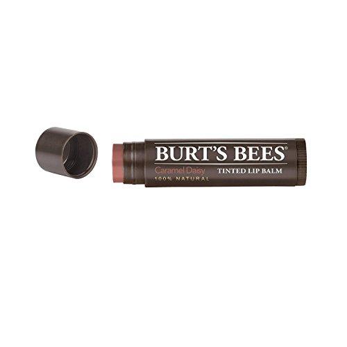 Burt's Bees Tinted Lip Balm, Caramel Daisy, 0.15 Ounce (3 Pack)