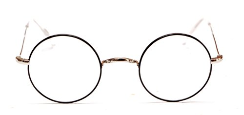 HARRY POTTER Style Round Frame Eyeglasses by Magnoli - Eyeglasses Fashioned Old