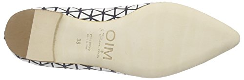 Mirror Azul Mujer Objects Slippers Blanco W006 in qqwC5Hp