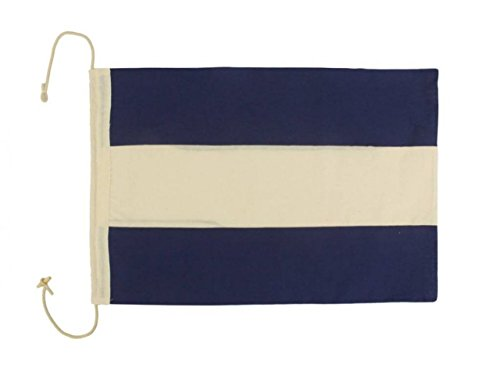 Hampton Nautical Letter D Nautical Cloth Alphabet Flag for sale  Delivered anywhere in USA