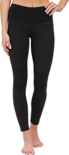 Brooks Women's Seattle Tights Black Pants LG (US 12-14) X 27.5