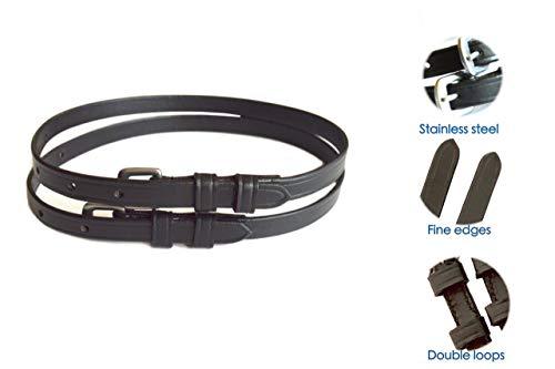 "SIE Premium Leather Spur Straps- Adult (18"")"