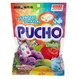 Pucho, Chewy Candy, Mixed Fruit Flavour, net weight 70 g (Pack of 3 pieces) / Beststore by KK