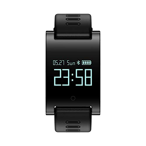 Dooret DM68 Plus Smart Activity Wristband Bluetooth 4.0 Wireless Bracelet Fitness Tracker with 0.95 inch OLED Display Screen