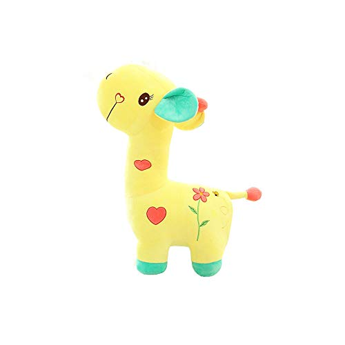 BeCol Yellow Giraffe Plush Toys, Cute Giraffe Toys Stuffed Soft Animal Dolls for Kids Birthday Xmas Gift by BeCol