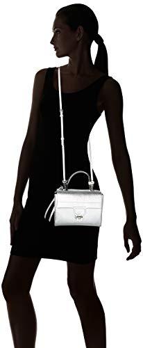 Plateado silver Shoppers 55 Mujer Y 01 De Arlettis E1 Cd5 Bolsos Coccinelle B7 Hombro wqtx7YOPn